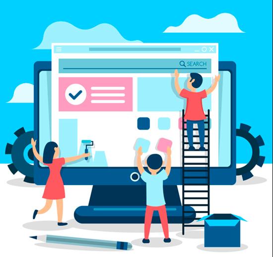 Dê o primeiro passo tendo um site próprio para se apresentar ao mundo digital.