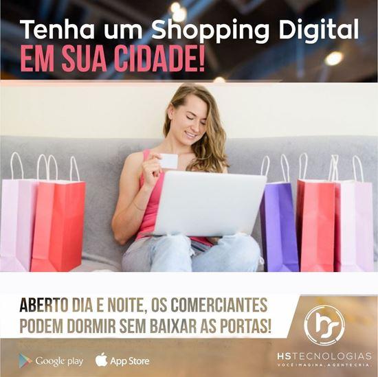 Shopping Digital em formato de aplicativos delivery